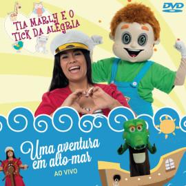 Tia Marly e o Tick da Alegria – DVD